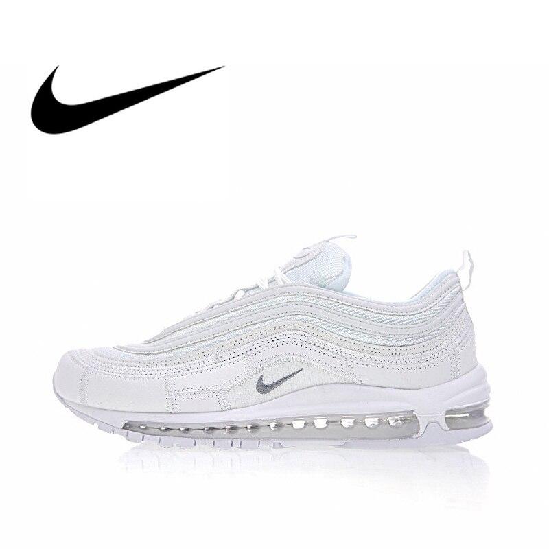 398af607 Nike Air Max 97 CR7 Для женщин дышащие кроссовки Уличная обувь, кроссовки  спортивные Низкий Топ дизайнер 2018 Новое поступление AQ0655-100