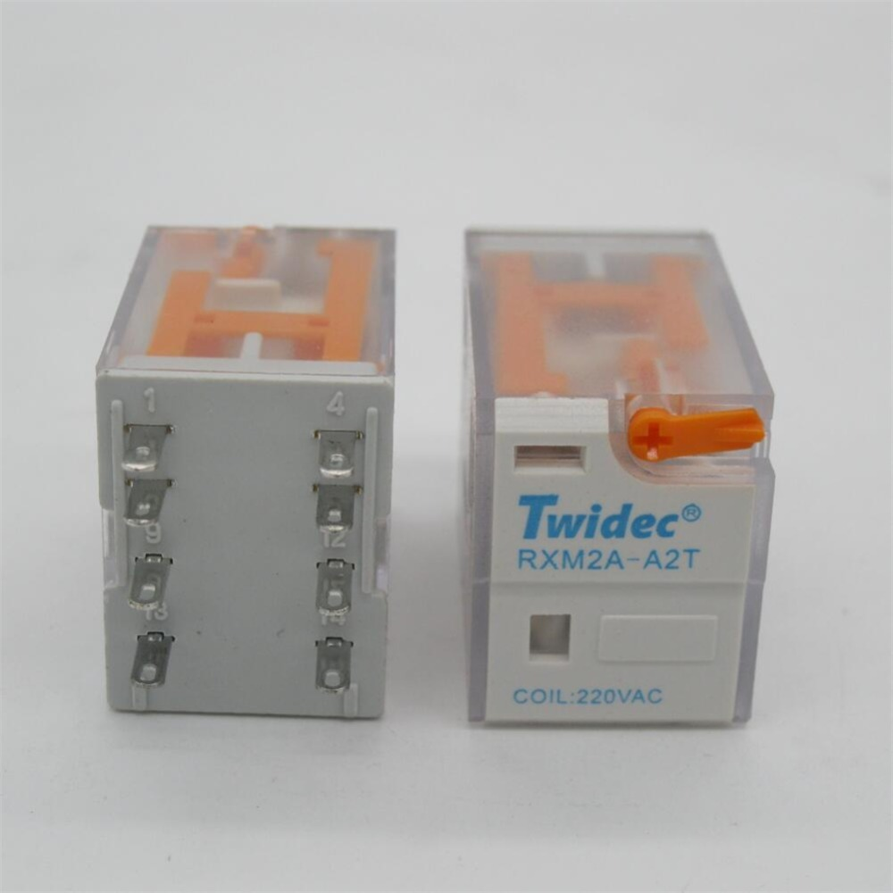 5pc High Quality Hh52p My2nj 220v Ac Coil Power Relay General Spdt Micro Mini 5v Purpose Dpdt Electromagnetic Socket Base In Relays From Home