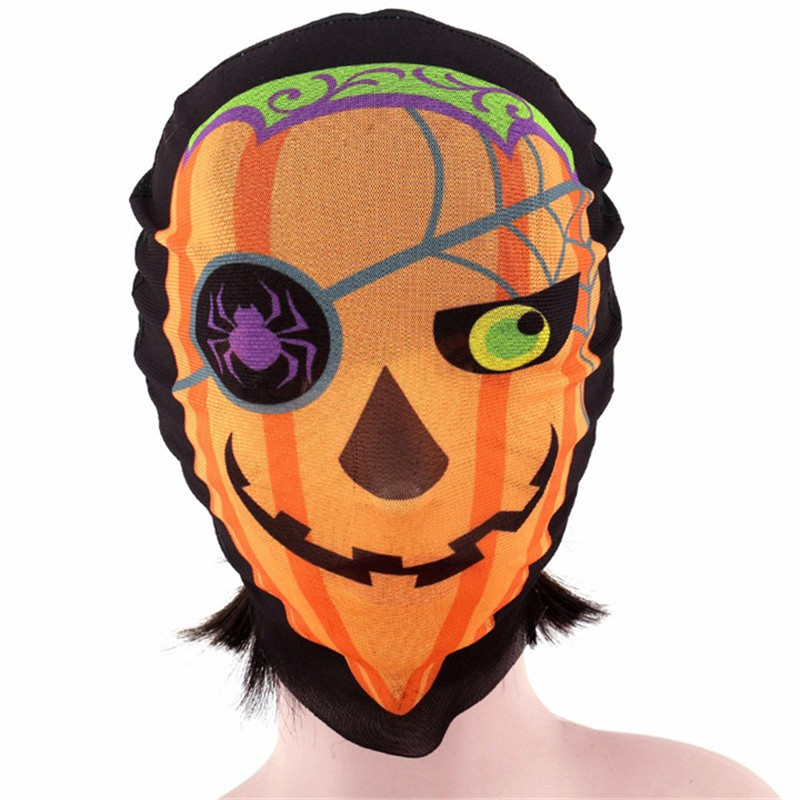 5 Halloween Mask For Women Sexy Full Face Party Mask Scary Cosplay Party Decorations Headgear Masquerade Skull Mask For Men