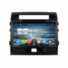 1024*600 Octa Core 2 din 9″ Android 6.0 Car DVD GPS for Toyota Land Cruiser 2008-2012 With 2GB RAM Radio Bluetooth 32GB ROM