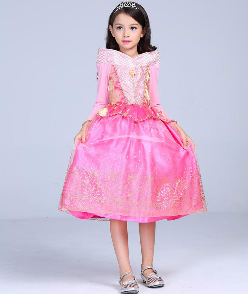 Princess Sleeping Beauty Aurora Ball Cosplay Dress Gown For Girls Halloween Costume Kids Party Wear Tulle Clothing-in Girls Costumes from Novelty u0026 Special ...  sc 1 st  AliExpress.com & Princess Sleeping Beauty Aurora Ball Cosplay Dress Gown For Girls ...