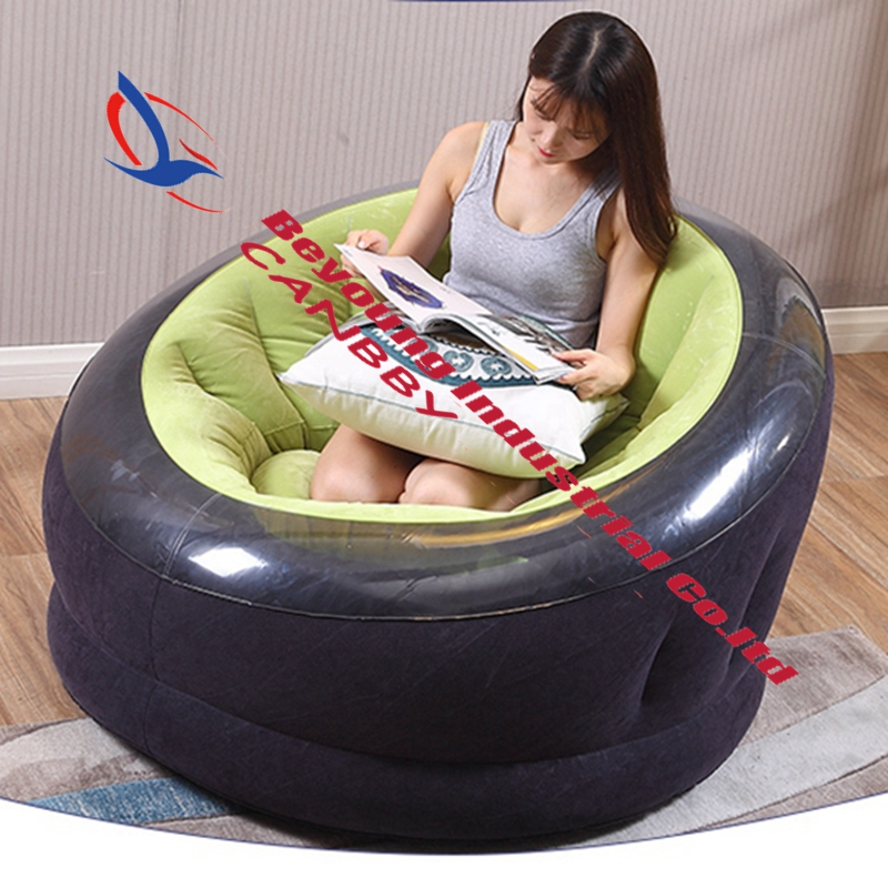 Green Intex Empire Chair Outdoor Inflatable Round Sofa Chair Seat
