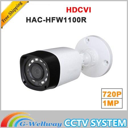 все цены на Brand Wholesale HAC-HFW1100R 1MP HDCVI IR Bullet Camera Smart IP67 720P HD CCTV Lite Series Brand-HAC-HFW1100R онлайн