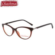 Chashma Brand Cat Eye Glasses lentes opticos mujer Fashion TR90 High Quality Optical Frames for Female Recipe Glass