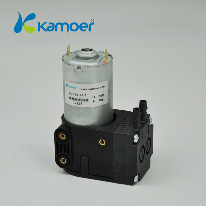 Kamoer 12V/24V KVP15mini diaphragm vacuum pump micro air pump brush dc motor micro diaphragm vacuum pump with dc motor mini air pump 12v 24v with high nagative pressure vacuum degree r kamoer kvp8 plus