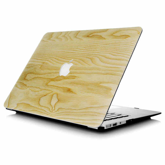 New Laptop Hard Case Cover Wooden Skin for Apple MacBook Air/Pro11 ...