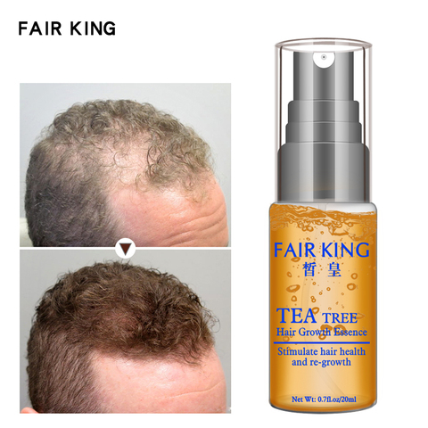 Tea Tree Hair Growth Essence Hair Loss Products Essential Oil Liquid Treatment Preventing Hair Loss Hair Care Products 20ml Lahore
