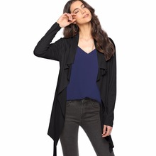цена на Women fall coats trench cardigan long sleeve lace-up turn-down collar dull polish overcoat trench coat casaco feminino mujer