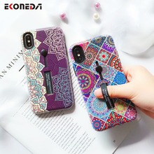 EKONEDA Hidden Ring Case For iPhone XS M
