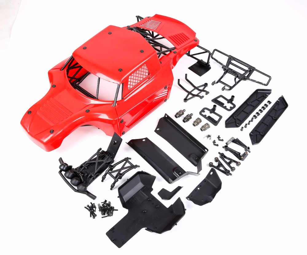 Losi 5T Body shell conversion 5B Body Shell & roll cage kit for 1/5 HPI ROVAN BAJA 5B RC CAR PARTS rovan baja alloy roll cage in black 95003