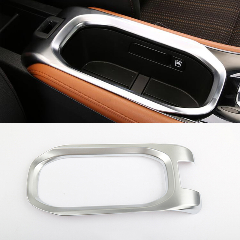For Honda HRV HR-V Vezel 2014/15/16/17 ABS Chrome Car Styling Accessories water Cup Holder Trim Interior Protective Decorative