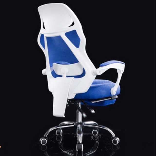 240331/Household Office boss Chair /High quality pulley/Computer Chair/Streamlined PU handrails/Comfortable handrail design/