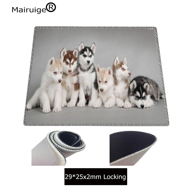 Mouse & Keyboards Mairuige Two Cute Dogs Animal Large Mouse Pad Anti-slip Natural Rubber Pc Computer Gaming Mousepad Desk Mat For Lol Cs Go Dota2 Computer & Office