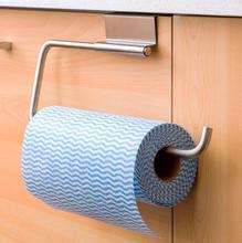 Stainless Steel Kitchen Cupboard Holder Kitchen Paper Hanger Dish Towel Hanger Kitchen Storage
