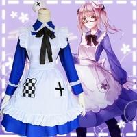 Anime cosplay Axis Powers hetalia Rosa Kirkland Maid Servant Dress Costume Set Lolita Dress Maid Cosplay