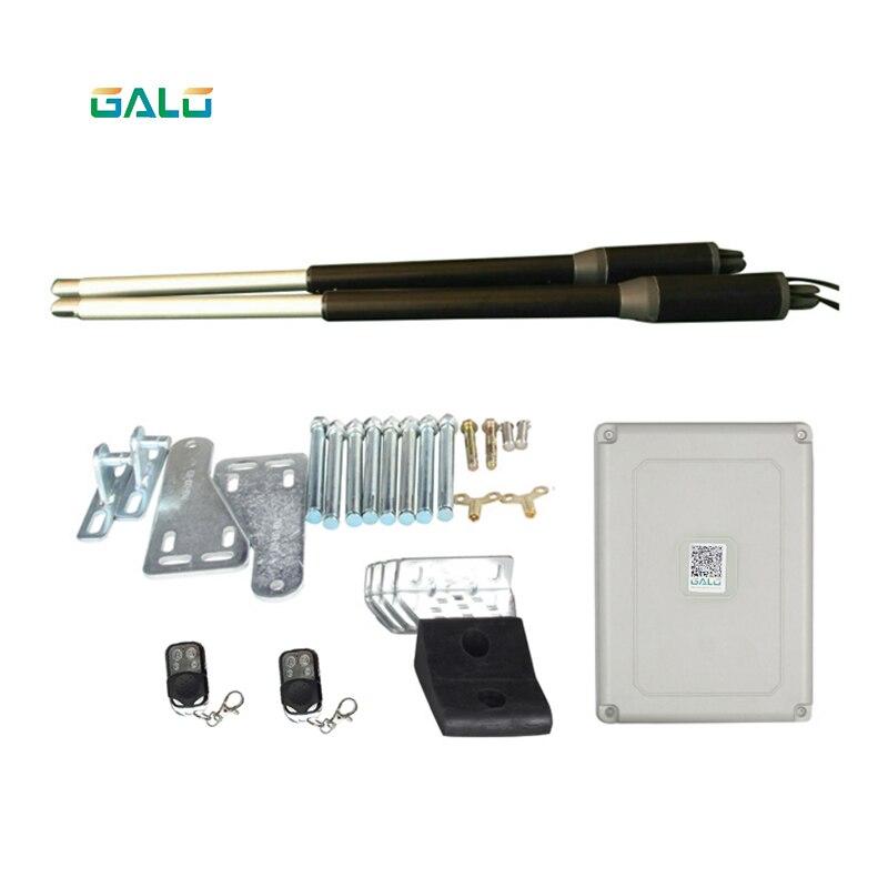 Système de portail automatique de contrôle d'accès système d'alarme géant de moteur de porte d'oscillation automatique à ca