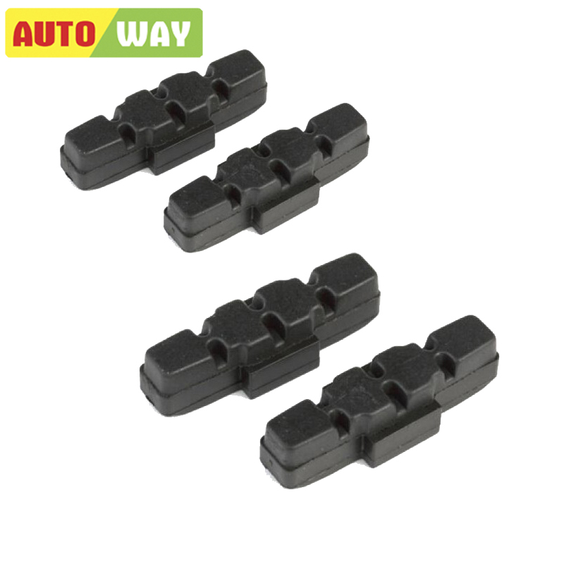 Autoway 1 Pair Resin Bicycle Brake Shoes CP310 MTB/V Type Brake Pads Hydraulic Rim Pad Magura Brakes For Bicycles
