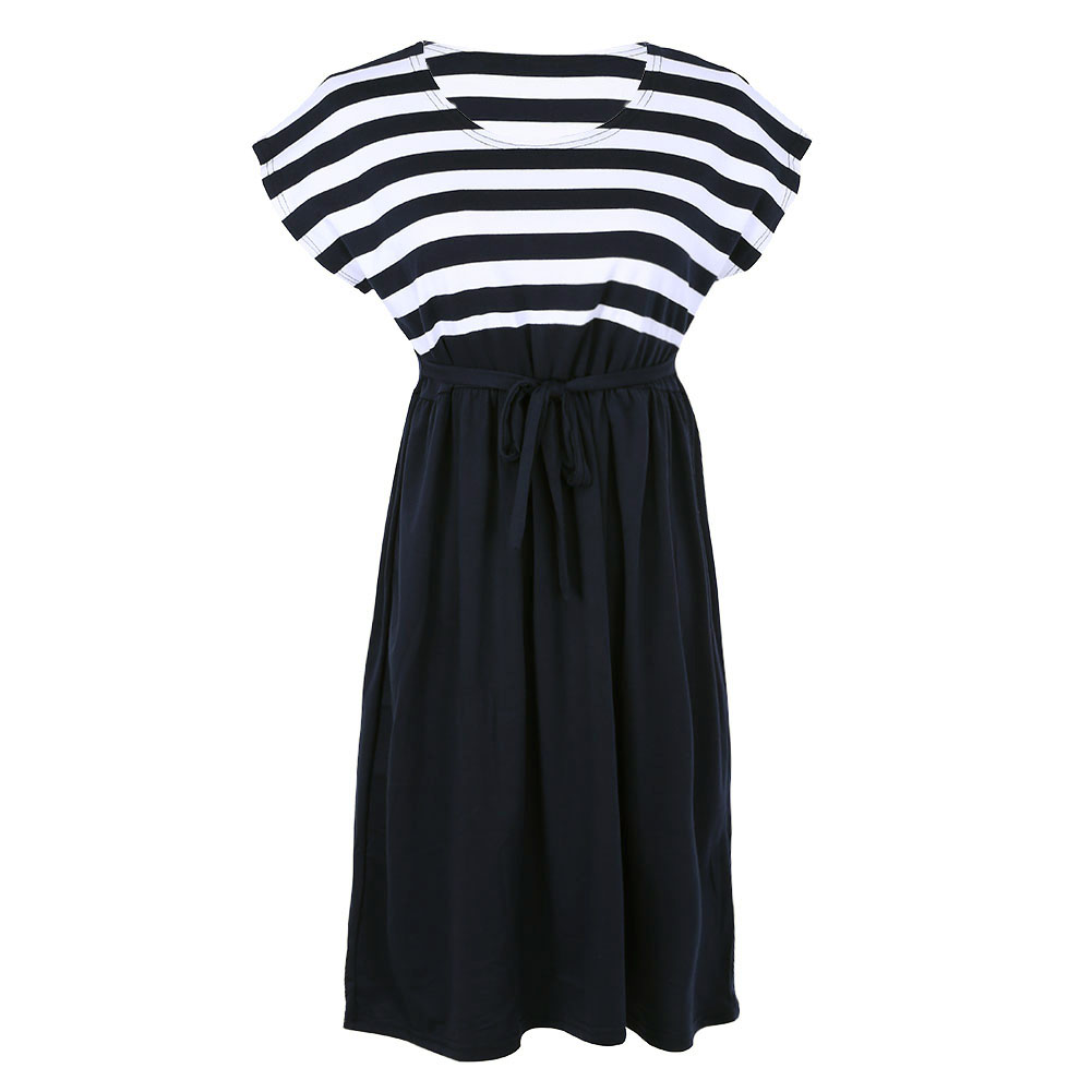 Aliexpress buy summer long maternity dresses loose a line aliexpress buy summer long maternity dresses loose a line short sleeve maternity dress cotton stripe dresses for pregnant women black from reliable ombrellifo Gallery
