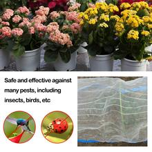 Anti Bird Net Silver Wire Edging Vegetable Garden Insect Mosquito Net For Garden Orchards Agriculture Insect Anti Bird Nets