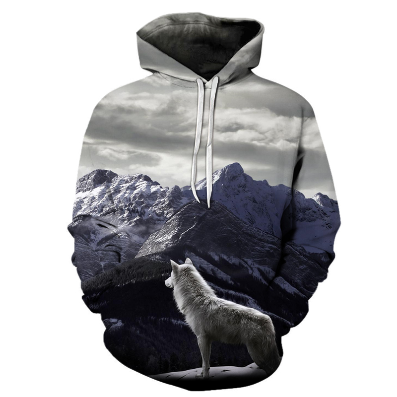 galaxy wolf printed 3d hoodies men brand hoodie hot sale unisex sweathsirts autumn 6xl pullover fashion tracksuits boy jackets Galaxy Wolf Printed 3D Hoodies HTB1YQGxi7