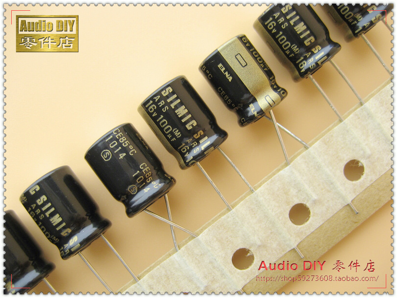 2019 hot sale 10pcs/30pcs ELNA SILMIC ARS Series <font><b>100uF</b></font>/16V Electrolytic Capacitor for <font><b>Audio</b></font> (Thai origl box) free shipping image