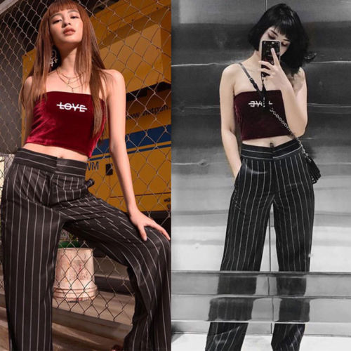 New Women Bralette Cut-Out Camis Strapless Vest Crop   Top   ulzzang   Tank     Tops   Club Sexy Bustier Velvet   Tanks   New Fashion