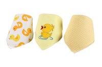 3Pcs Baby Bibs Kids Head Scarf Towel New Boy Girl Dribble Feeding Saliva Bandana Para Accessories Bibs & Burp Cloths Character