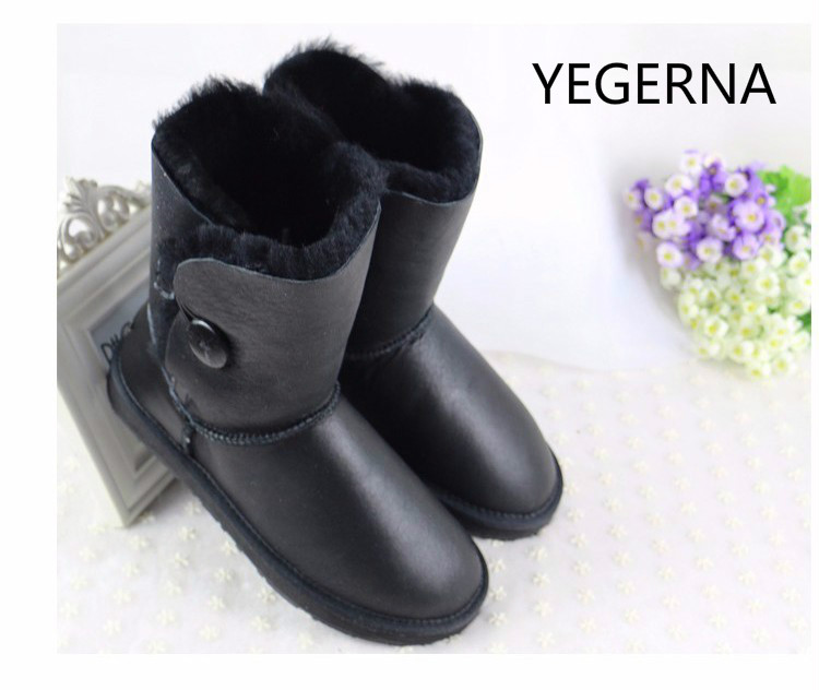 2016 winter fashion women snow boots high quality  classic shoes Pure manual snow boots free shipping only true love high quality women boots winter snow boots
