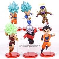 Dragon Ball Super WCF 9 Super Saiyan God Super Goku Vegeta Kale Frieza Son Gohan Jiren