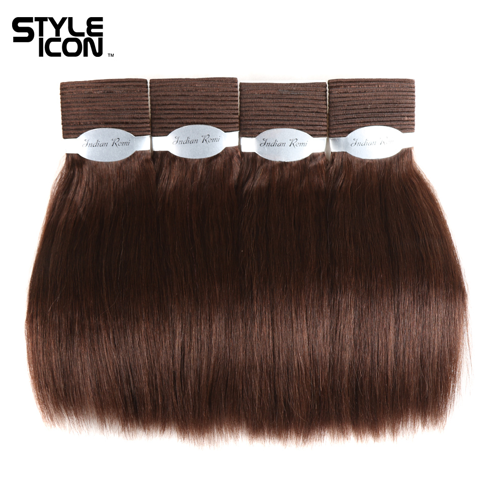 Styleicon Wet And Wavy Human Hair Bundles Indian Remy Hair Weave 4 Bundles Deal Hair Extensions Pure Color 1 1B 2 4 Hair