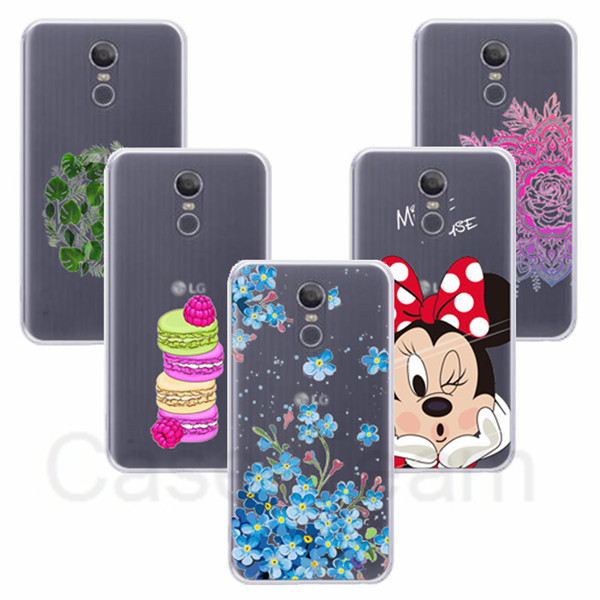 TPU Cover for LG Stylo 4 cover, Cartoon TPU Case for LG