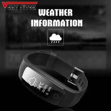 ID107Plus Plus HR Smartband Wristband Heart Rate Monitor Bracelet Bluetooth Smart Band Multi Sport Cardio Fitness Tracker Mi 2 3