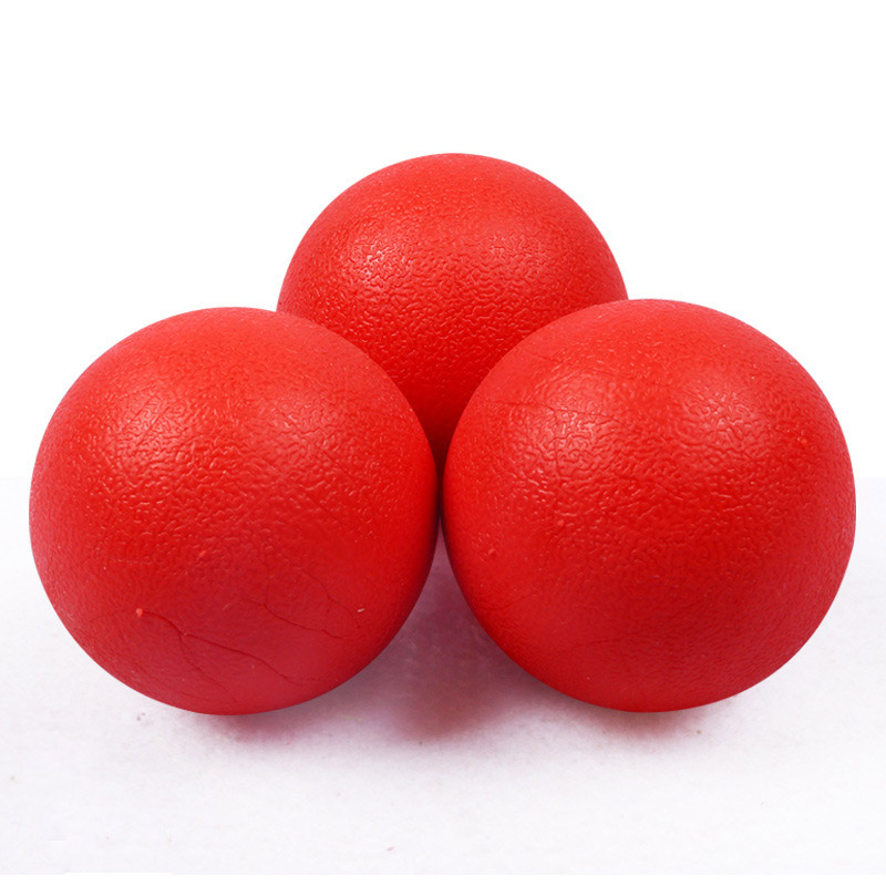 Red Solid Elastic Pet Ball Toys Puzzle Rubber Chew Game Training Pet Dog Toy HG99