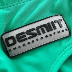 Бренд Desmiit, мужские плавки, мужские купальные костюмы, мужские водоотталкивающие сексуальные плавки, шорты для пляжа 3