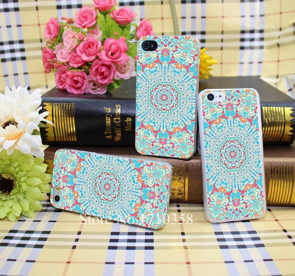 252068N boho summer journey Style Hard Transparent Phone Cases Cover for iPhone 7 7 Plus 5 5s 4 4s 6 plus 5c Clear