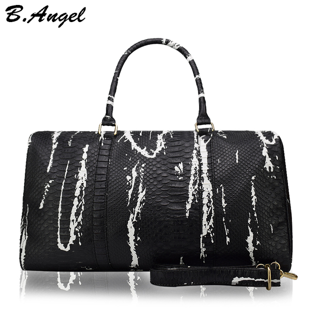 High quality crocodile pattern family bag big travel bag fashion women messenger bags Special Handbag casual shoulder bag FM-852