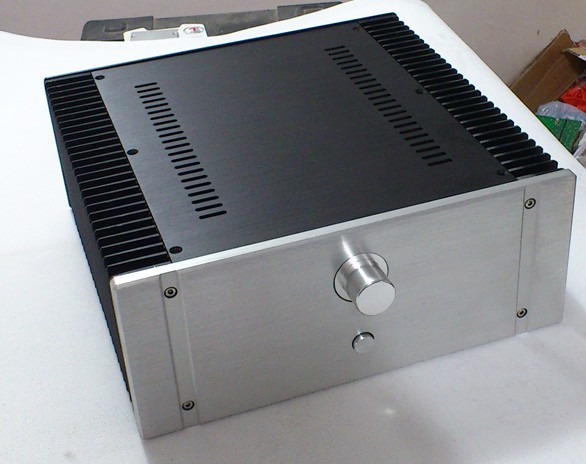 amplifier chassis 320 aluminum enclosure (320*130*311mm) amp case DIY box new 3213 full aluminum chassis amplifier case external size 320 130 313mm