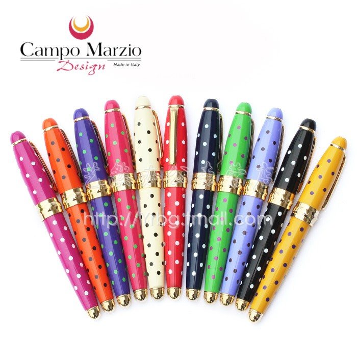 M. campo marzio polka dot mini mode qualité fontaine stylo