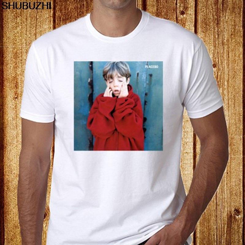 100% Baumwolle T Shirts Marke Kleidung Tops Tees Oansatz Kurze Placebo Rock Musik Lustige Mens T Shirt Sbz1176 In Verschiedenen AusfüHrungen Und Spezifikationen FüR Ihre Auswahl ErhäLtlich