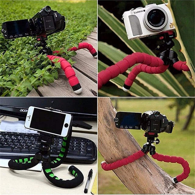 Mini Flexible Sponge Octopus Tripod for Smartphone Camera