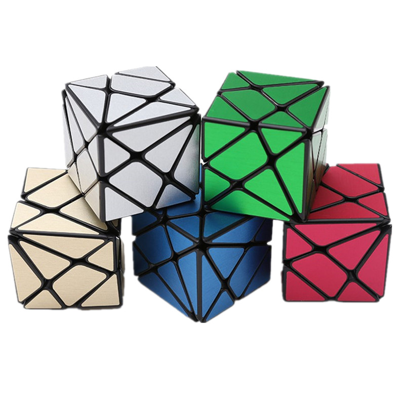 ZCUBE 3x3x3 Multi-Color Professional Competition Magic Speed Cube IQ Test Toy Strange-Shape Cube for Adults or Children 57mm ...