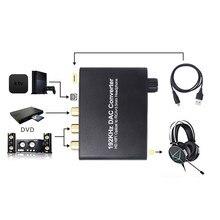 3,5 мм адаптер для HDTV цифровой аудио конвертер 192 кГц адаптер с аудиоразъемом для HDTV O.30