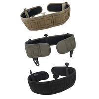 2018 Men TMC OR Belt Tactical Military Molle Waist Padded Belt Combat TRA Waist Support BK/CB/RG Color