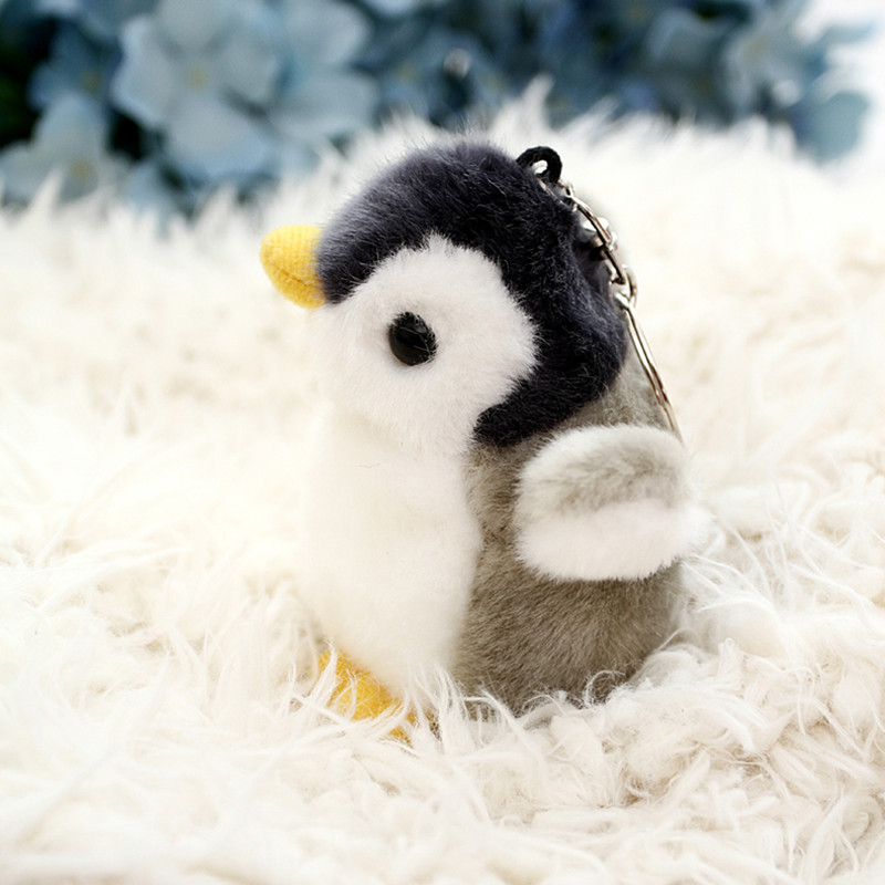 super cute 10cm korea toyclub penguin plush toy, penguin stuffed animal toy for children penguin plush keychain bag pendant