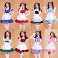 Lolita Princess Maid Dress Fancy Apron Dress Maid Outfits Meidofuku Uniform Cosplay Costume S-XXL