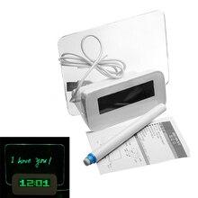 T-Melhor Em Aliexpress promoção DIODO EMISSOR de Luz Fluorescente Despertador Calendário 4 Portas USB-Verde