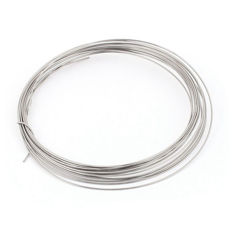 FeCrAl 1mm 18 Gauge AWG 0.45 Ohms/ft Heater Wire 7.5Meters цена