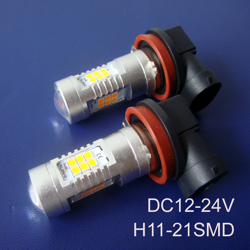 High quality 12/24VAC/DC 10W H11 car Led fog lamp,Auto H8 H11 led fog light,H8 Led Bulb free shipping 2pcs/lot