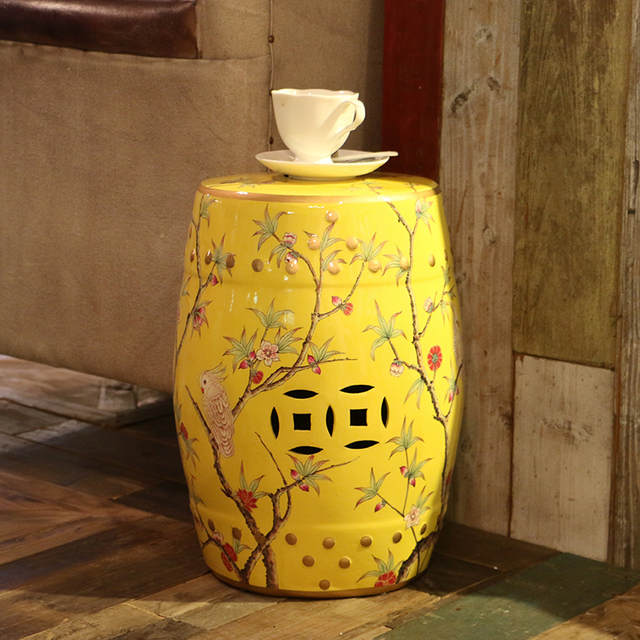 Fabulous Modern Chinese Tall Parrot Ceramic Stool For Garden And Home Furniture Accessories Uwap Interior Chair Design Uwaporg