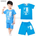 Clothing Set For Boys Summer Cotton Casual Baby Clothes Children Clothing Letter Boys Clothing Sets Outfits 2-14 Y